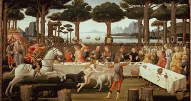 Застольный пир Средневековья