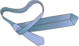 Как вязать галстук - aa8c